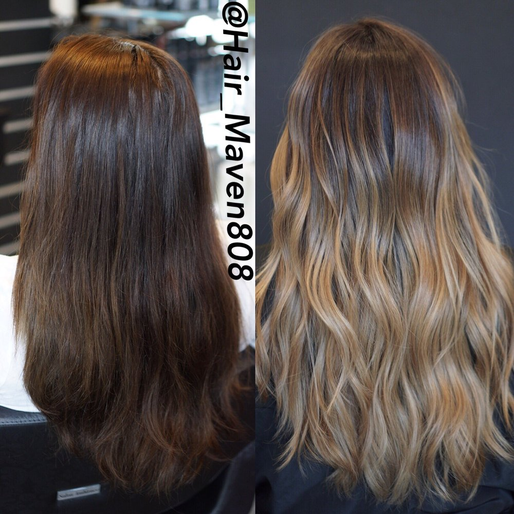 Balayage ombré Email for consultation: Hairbyame@gmail com Instagram