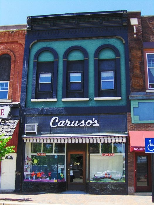 Caruso's Candy & Soda Shop: 130 S Front St, Dowagiac, MI