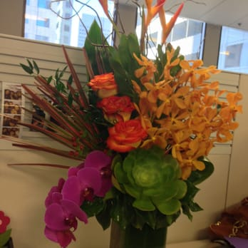 Photo of San Francisco Florist - San Francisco, CA, United States. Tropicals sent