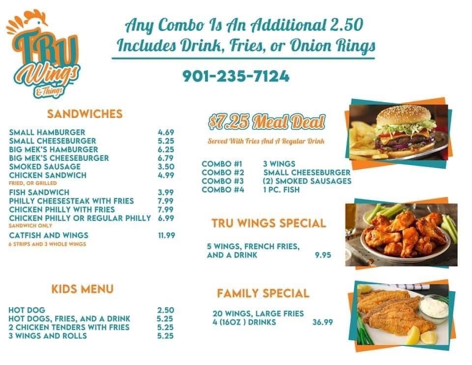 Tru Wings and Things: 7742 Hwy 64, Oakland, TN