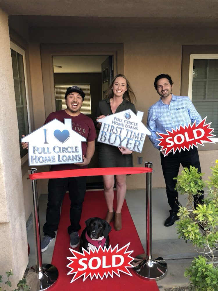 5472835a49 Excited first time buyers! And look at that excited dog in her new ...