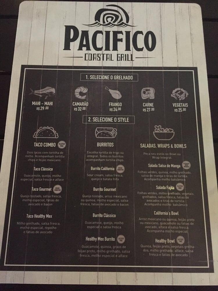 Pacifico Coastal Grill
