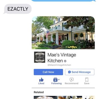 Mae S Vintage Kitchen Kernersville Nc