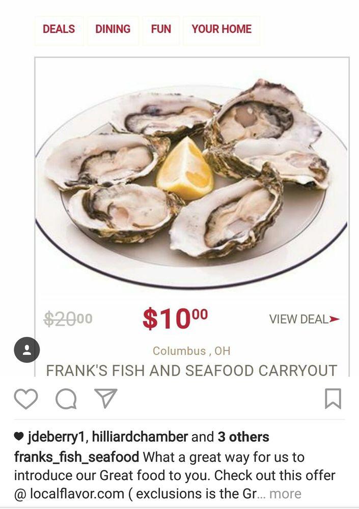 Only a limited quantity left great easter basket stuffer for Franks fish market