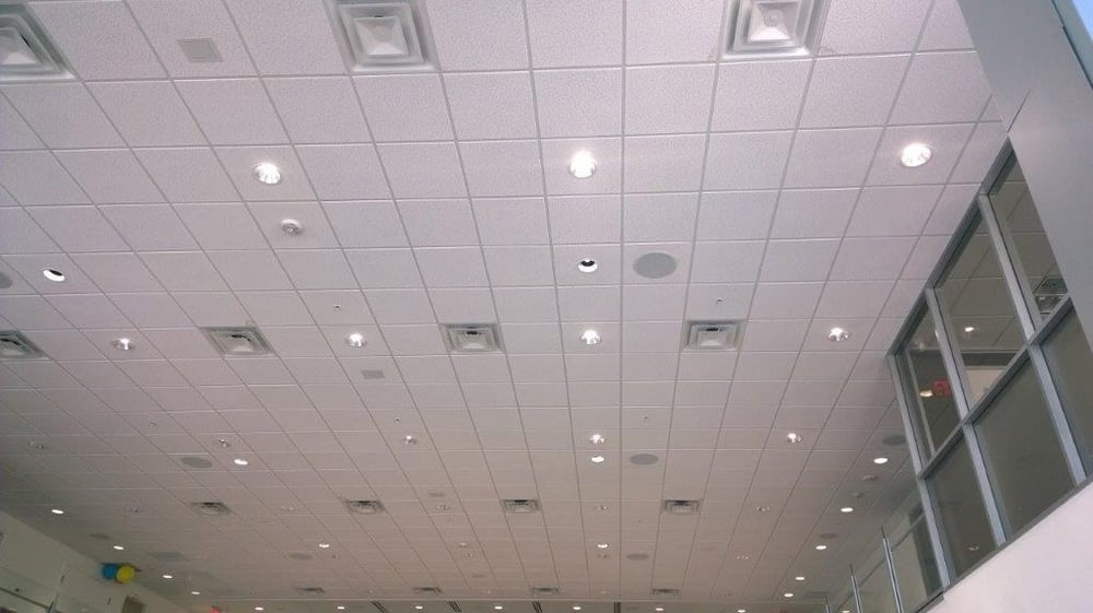 Photo Of IP Ecosystems   Houston, TX, United States. Ceiling Tile Speakers