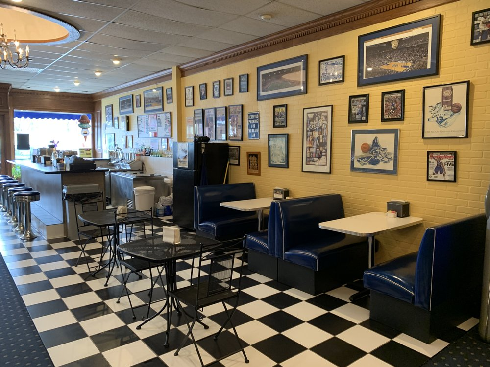 The Railroad Drug & Old Time Soda Fountain: 115 East Main, Midway, KY