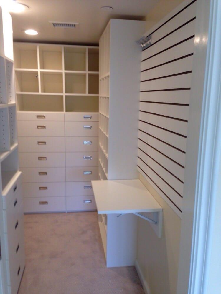 Photo Of Closet Crafters   Ventura, CA, United States. White Melamine  Master Closet
