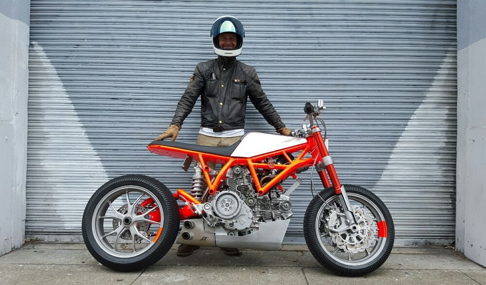 San Francisco custom bike builder Hugo Eccles Untitled Motorcycles and his awardwinning
