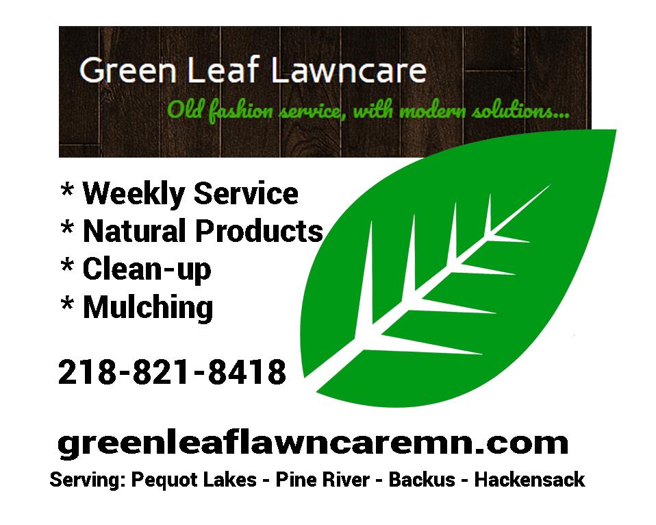 Green Leaf Lawncare: Pine River, MN