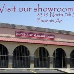 Hung rite garage door 17 reviews garage door services for Garage door phoenix az