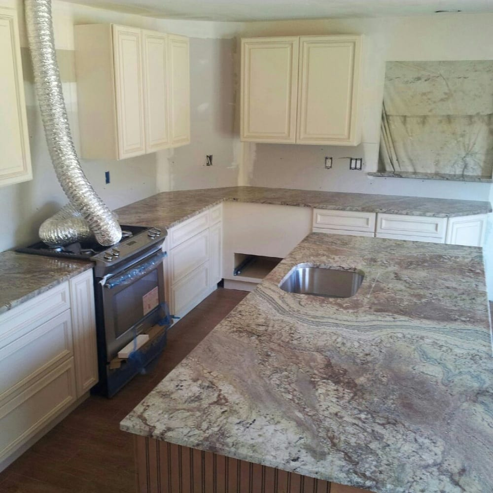 Typhoon bordeaux granite countertops - Yelp