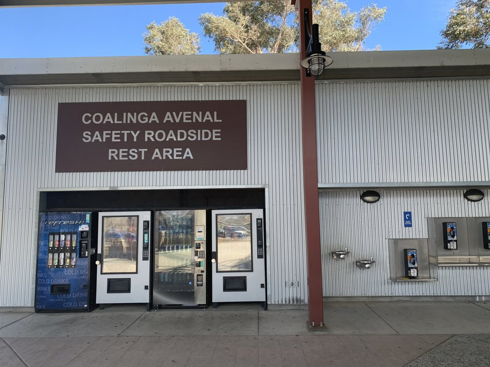 Coalinga Avenal Safety Roadside Rest Area: West Side Fwy, Huron, CA