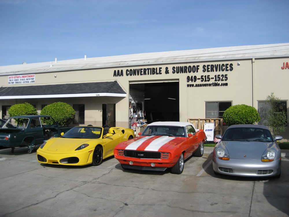 AAA Convertible & Sunroof Services - 25 Photos & 72 Reviews - Auto