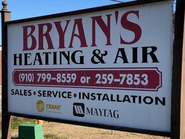 Bryan's Heating & Air: Burgaw, NC