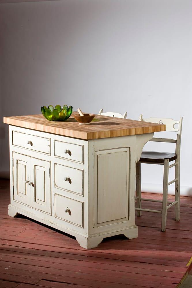 ilot et planche de boucher en bois yelp. Black Bedroom Furniture Sets. Home Design Ideas