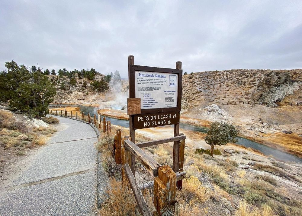 Hot Creek Geological Site: Mammoth Lakes, CA