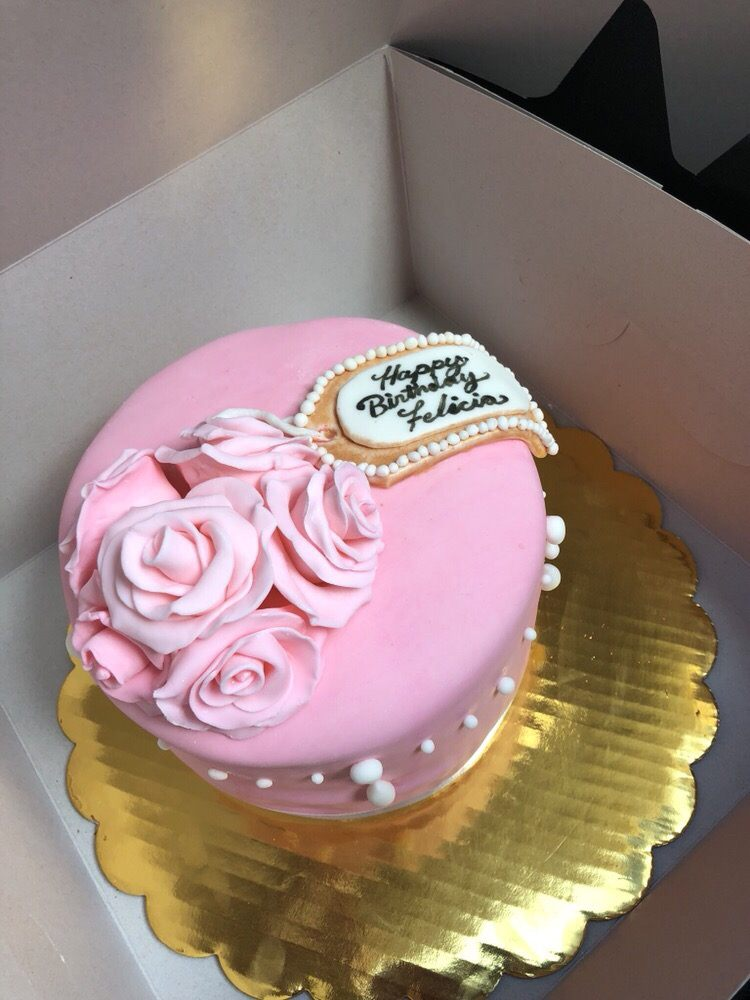 I Needed A Beautiful Birthday Cake To Celebrate A Friends 80th
