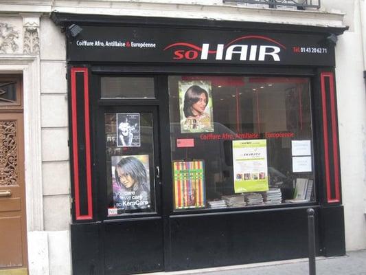 So hair coiffeurs salons de coiffure 1 rue maison - Nombre de salons de coiffure en france ...