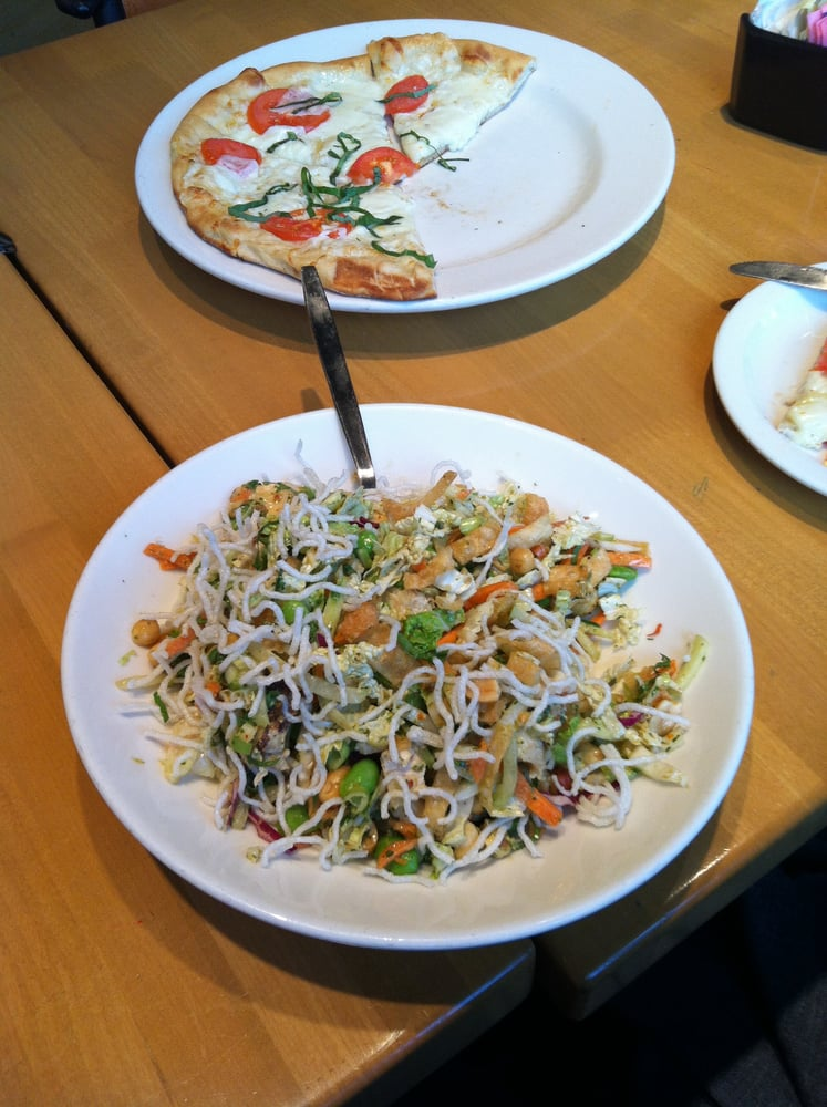Thai Crunchy Salad A Visual Piece Of Work That Pitifully Labors For An Identity Is It A