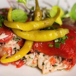 ... of Pintxo - Seattle, WA, United States. Crab stuffed piquillo peppers