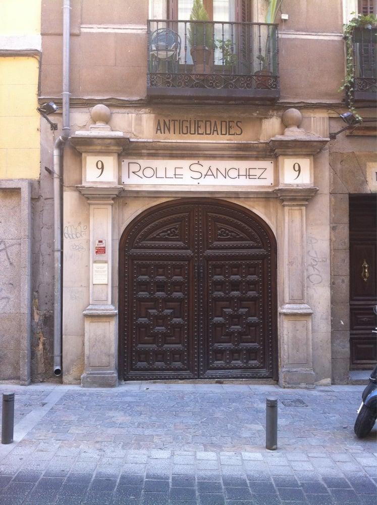 Antiguedades rolle sanchez antiquari e restauratori for Calle prado 9 madrid