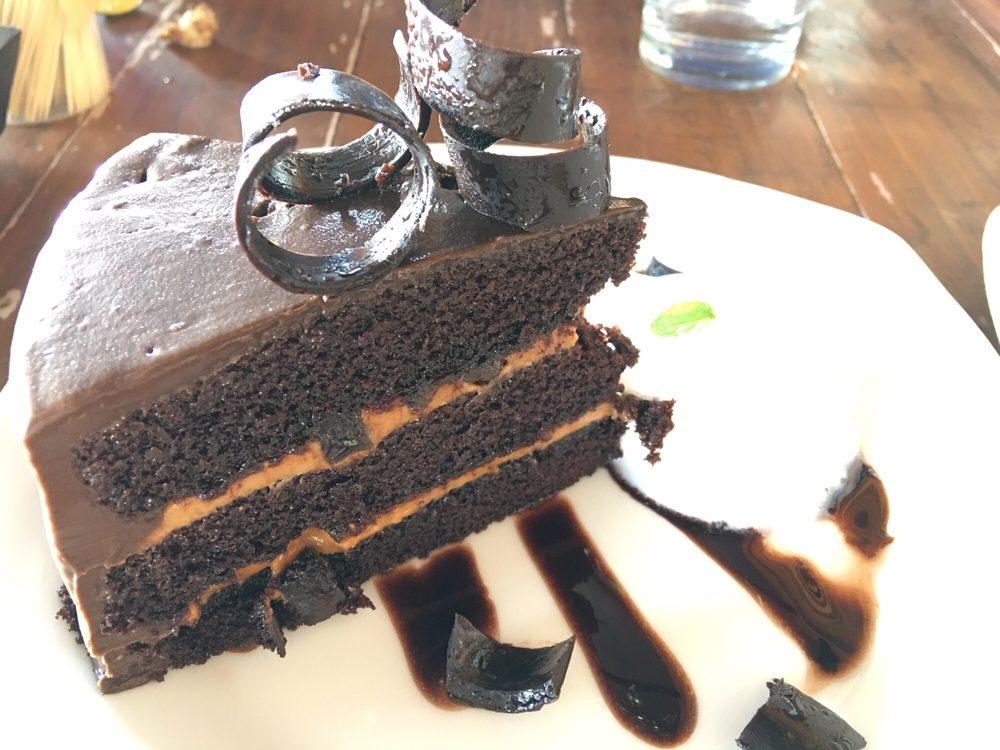 Baños De Chocolate | Double Chocolate Cake Decadent And Moist Yelp