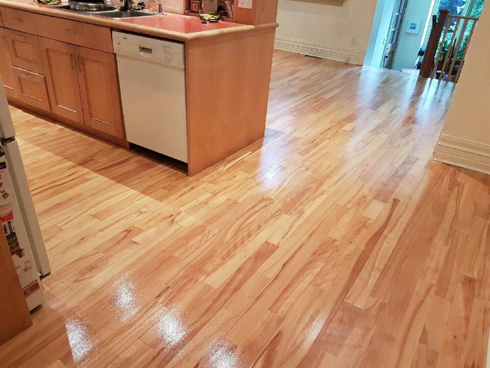 Photo Of Zsibi Hardwood Flooring Toronto On Canada Beautiful Refinished Natural Beech