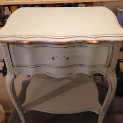 Photo Of Chauness Furniture Portland Or United States Small Side Table Refinish