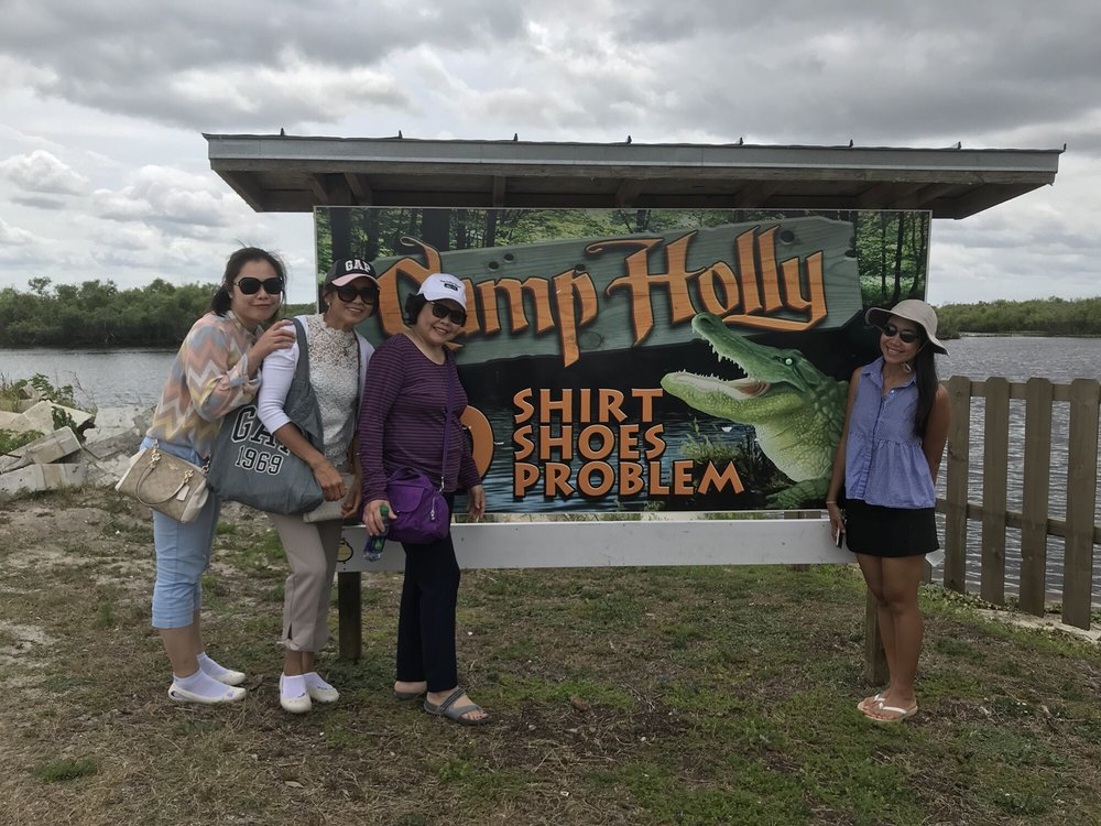 Social Spots from Camp Holly Airboat Rides