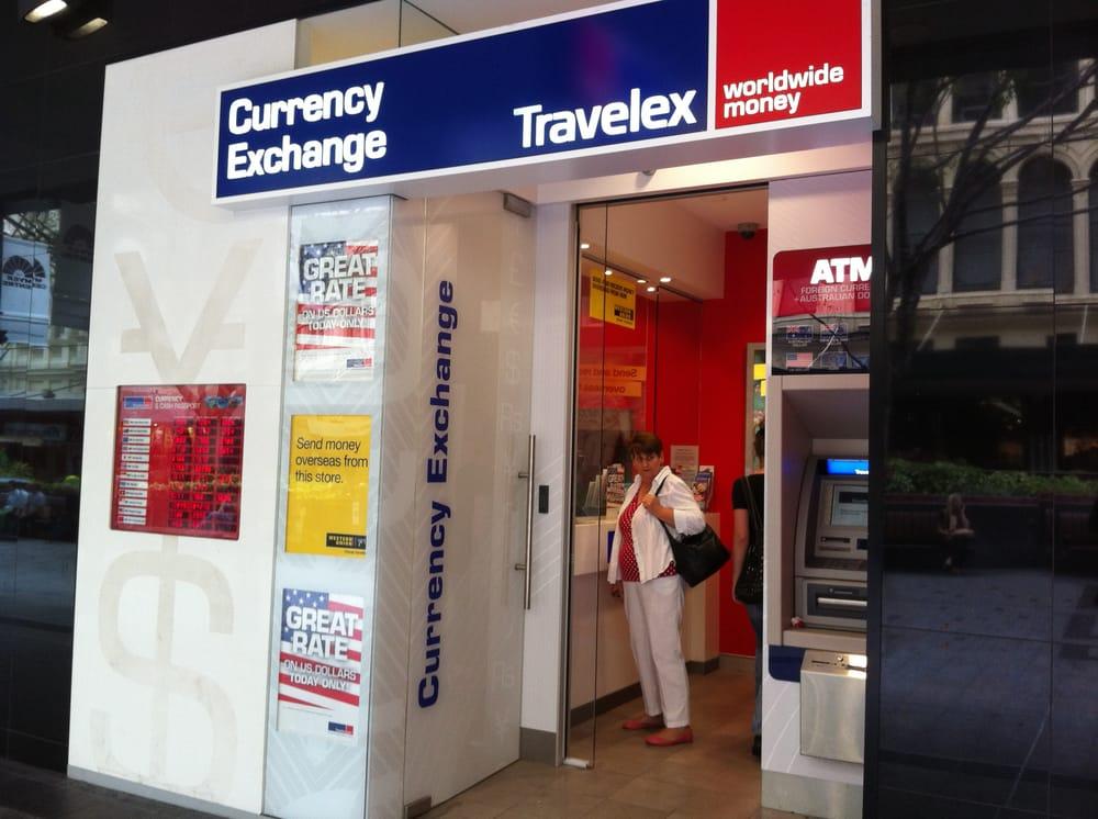 Travelex: The Myer Centre, Brisbane, QLD
