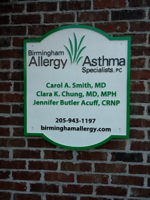 Birmingham Allergy Asthma Specialists Pc Allergists 254b