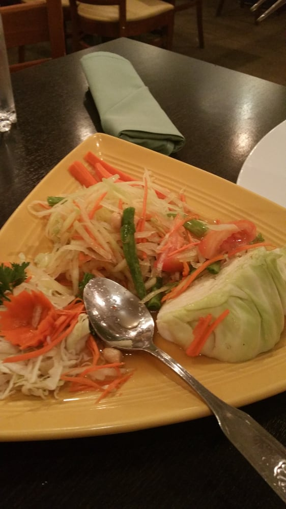 Papaya salad really good yelp for Jasmine cuisine