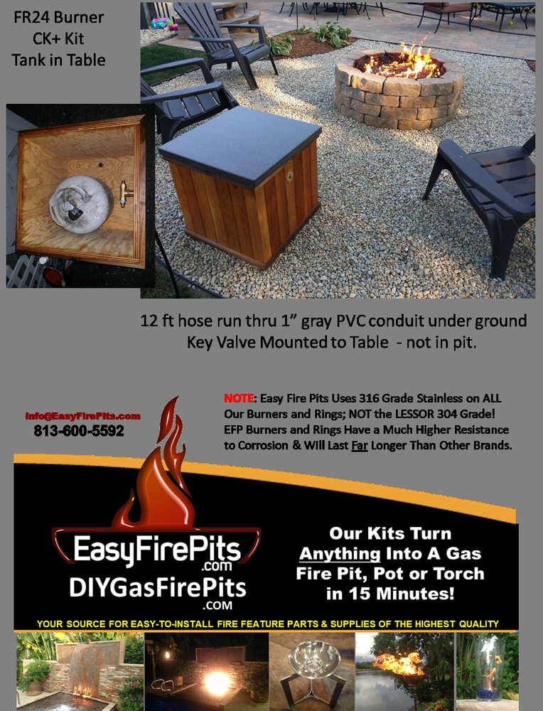 Easy Fire Pits: 405 S 22nd St, Tampa, FL