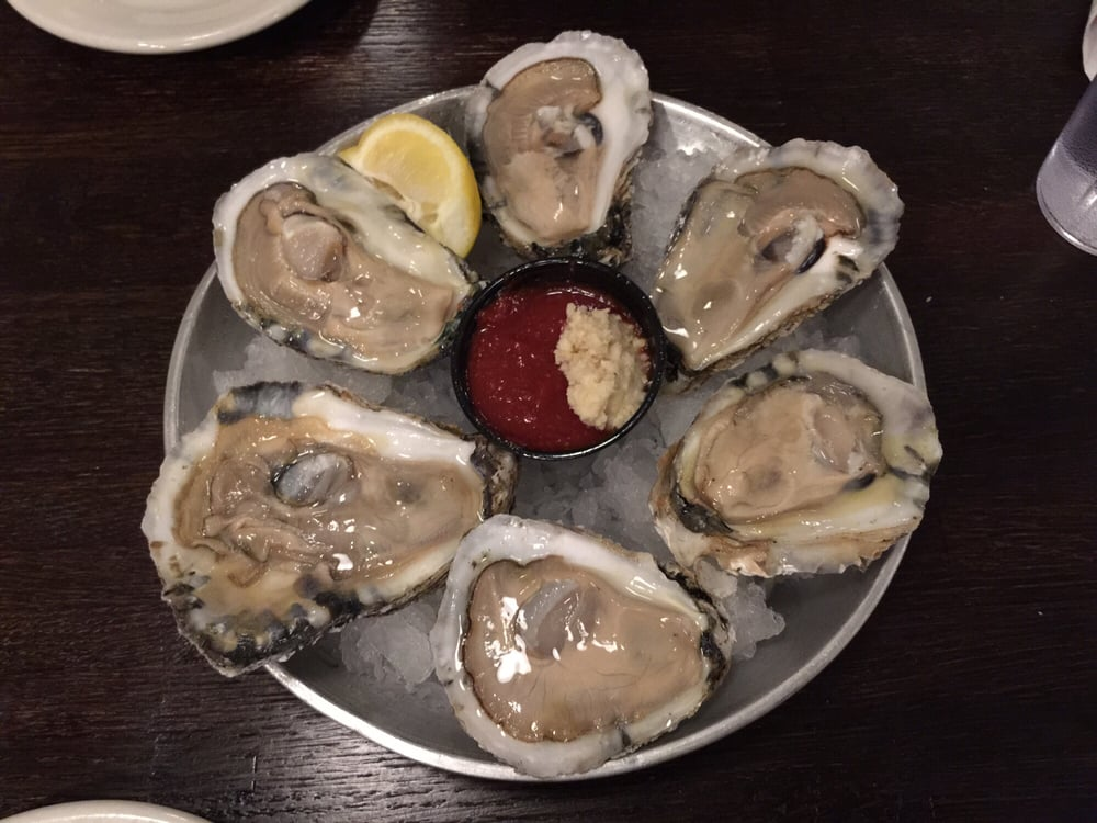 Fresh oysters nomomom yelp for Fahlstrom s fresh fish market