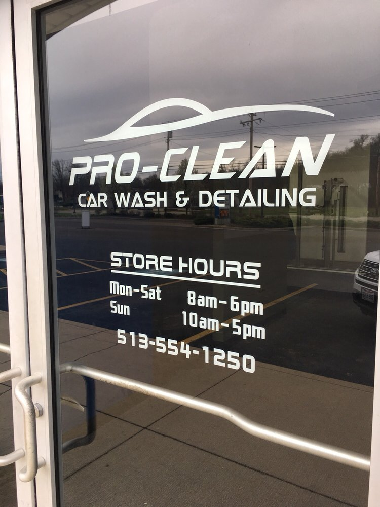 Pro Clean Car Wash: 10199 Reading Rd, Cincinnati, OH