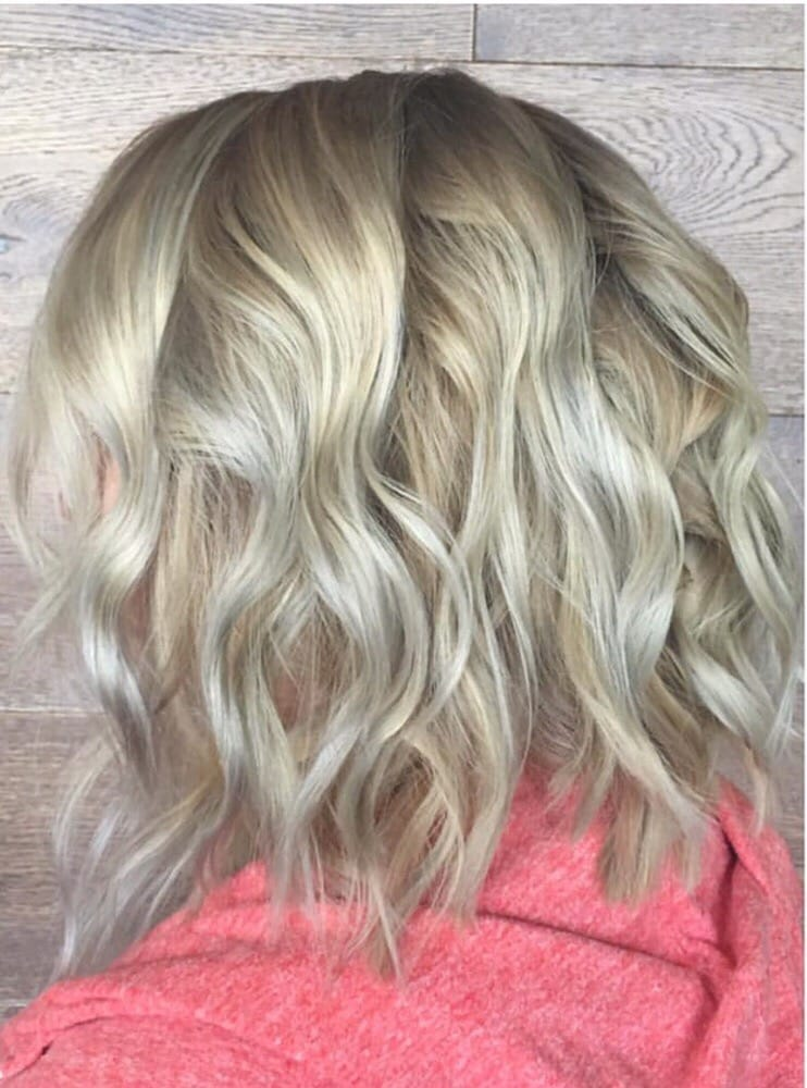Rooty ash blonde by rachel yelp for 5 elements salon