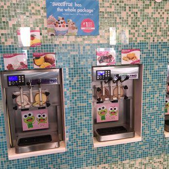 Sweet Frog Premium Frozen Yogurt Ice Cream & Frozen Yogurt 101
