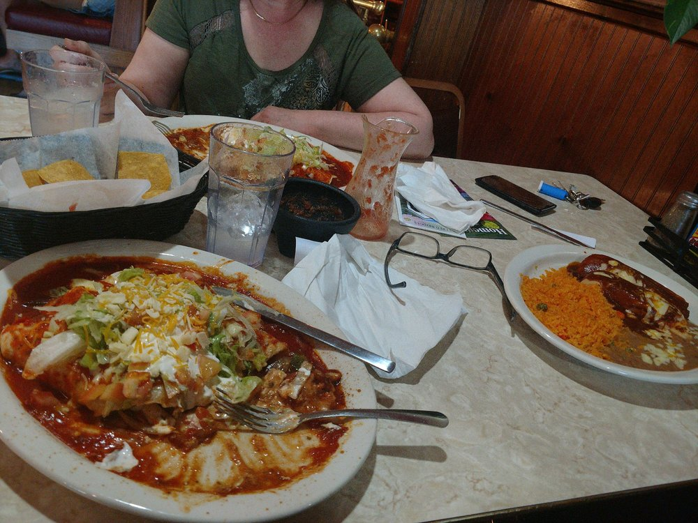 Food from El Torito