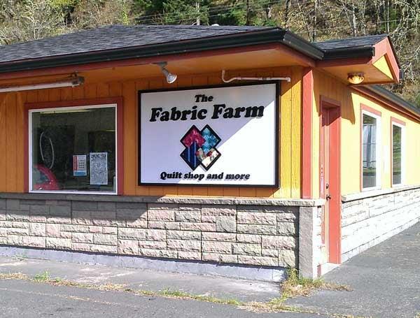 The Fabric Farm: 438 W B Ave, Drain, OR