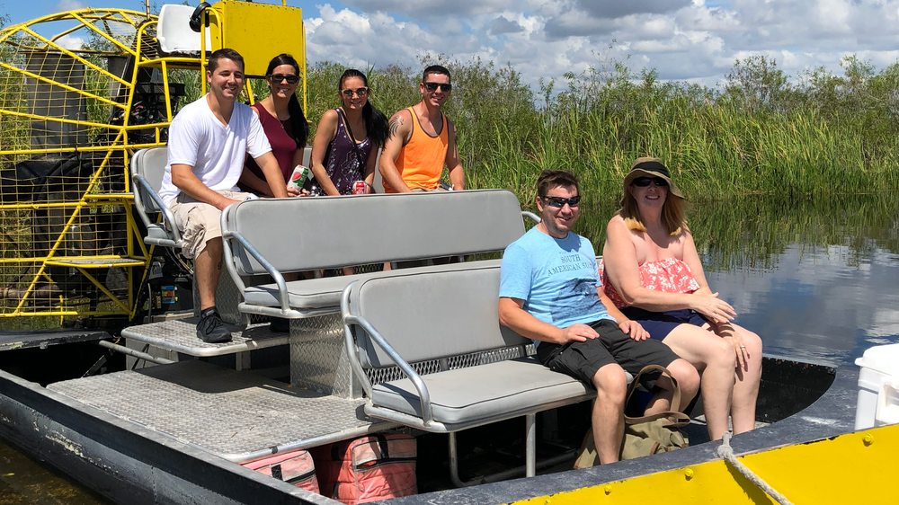 Airboat In Everglades: 17696 SW 8th St, Miami, FL