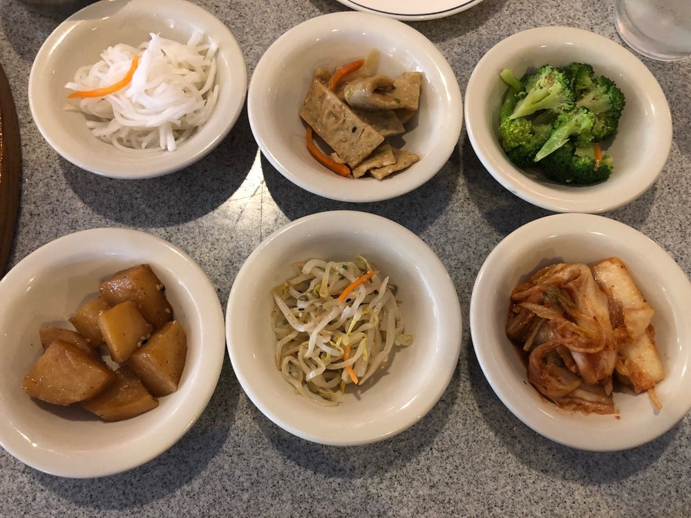 Food from Korea House