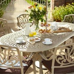 Photo Of Outdoor Furniture Ireland   Wicklow, Republic Of Ireland. Cast  Alumimium Garden Furniture
