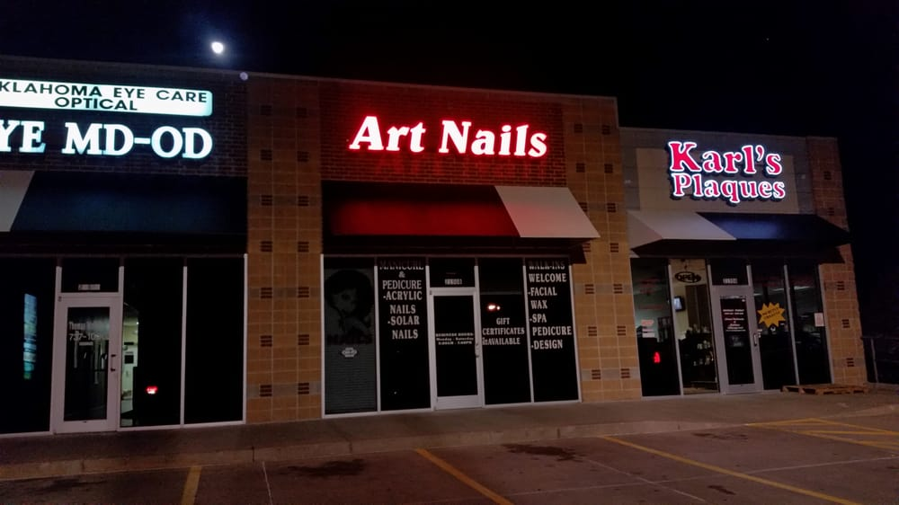 Art nails 11 reviews nail salons 2150 s douglas blvd for 9309 salon oklahoma city