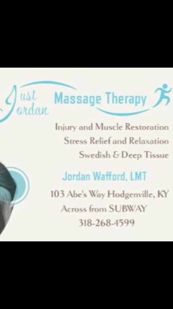 Just Jordan Massage Therapy: 103 Abe's Way, Hodgenville, KY
