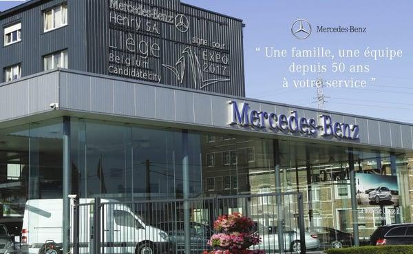Garage henry mercedes benz car dealers all e verte 29 vis li ge belgium phone number - Garage mercedes belgique ...