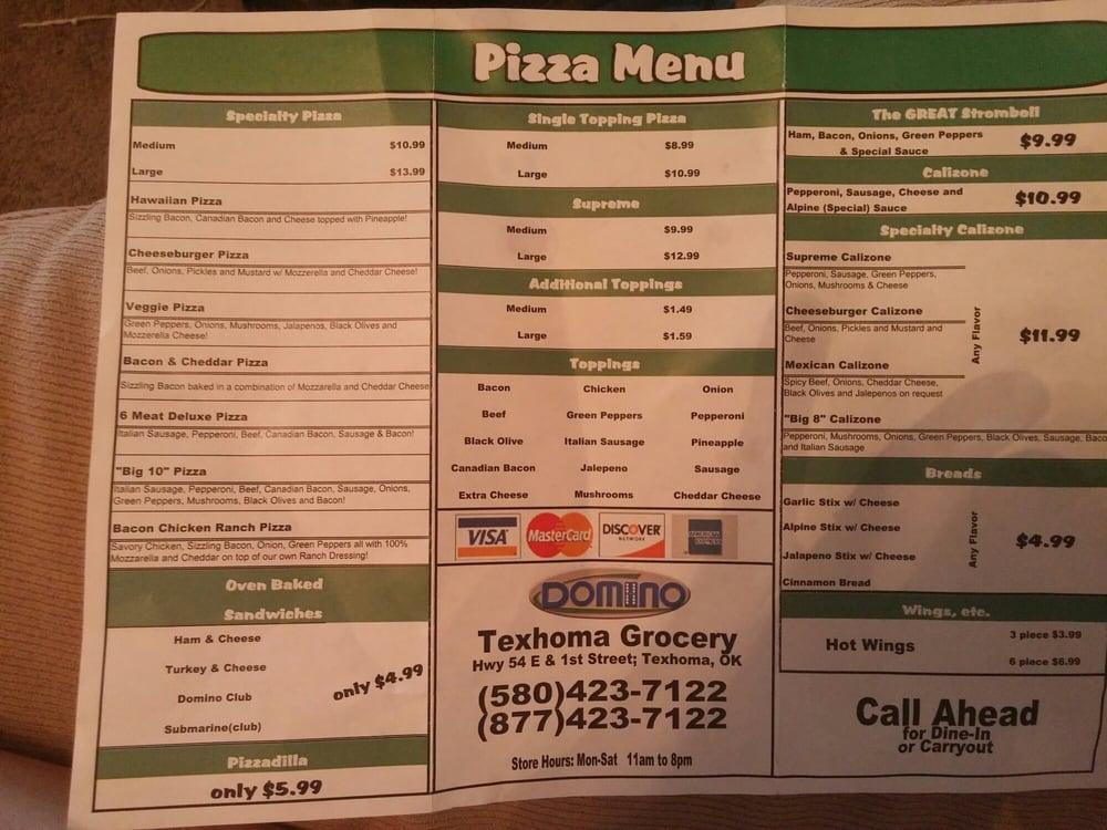 Texhoma Grocery: Highway 54 E, Texhoma, OK