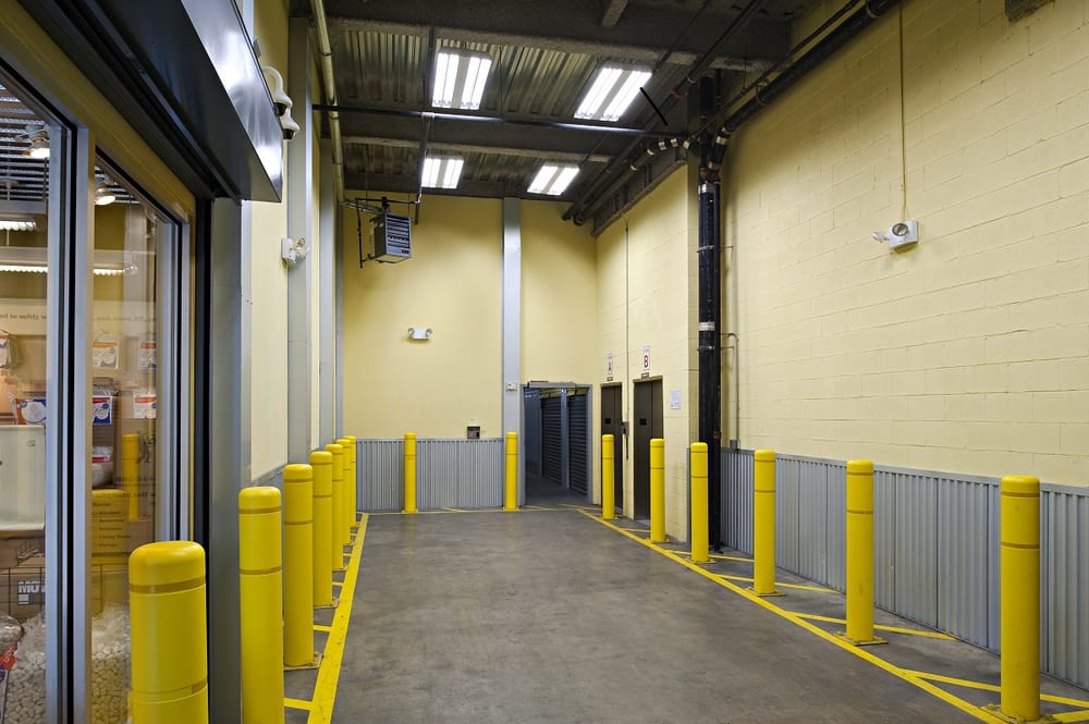 Drive In Loading Bay To Protect Your Items From The