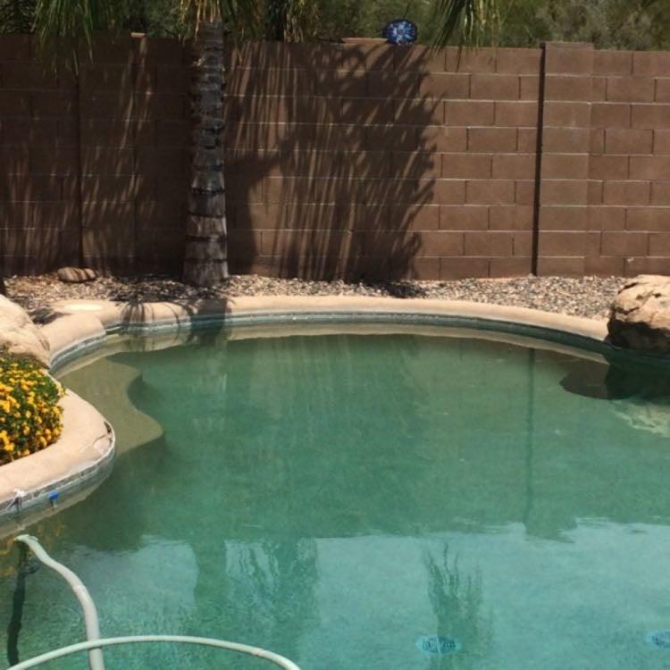 Broken pebble tec along rolled edge yelp for Broken swimming pool