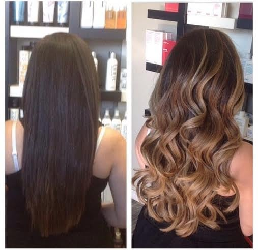 Here Is My Hair Before Left And After Right Simply Amazing