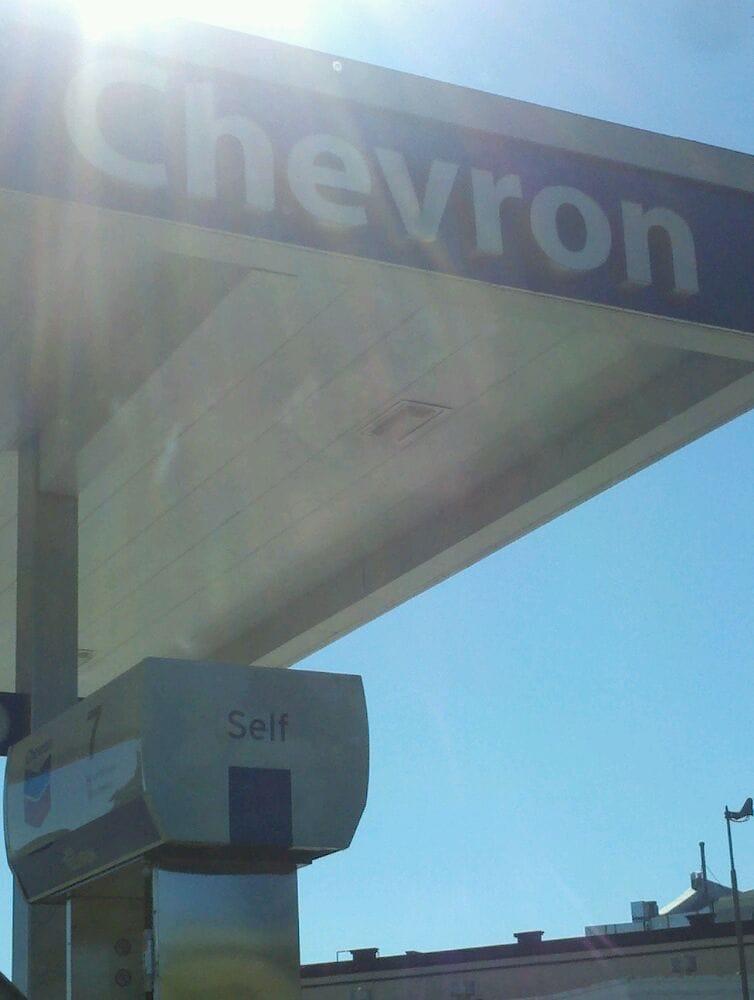 St Helena Chevron Station